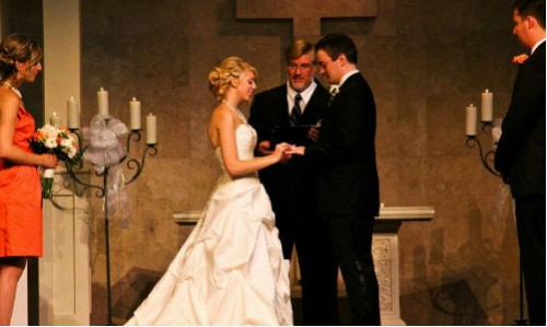 Wedding Officiant Cincinnati Pastor Kevin Carpenter wedding2cherish